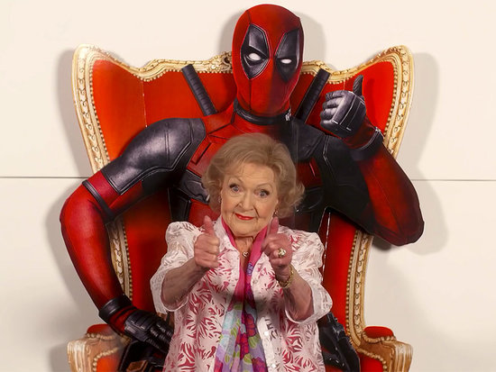 Two Thumbs Up! Betty White Delivers Sidesplitting (and Potty-Mouthed) Deadpool Review - Watch the Clip