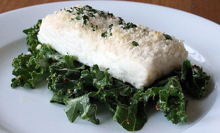 Panko-Crusted Fish