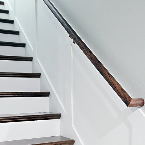 Unfinished Staircase Makeover