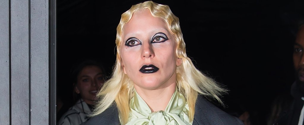 See Every Angle of Lady Gaga's Punk-Inspired Look on the NYFW Runway