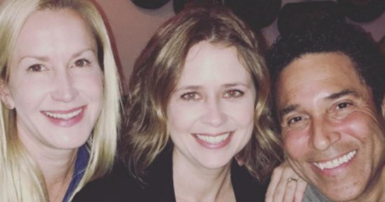 Feast Your Eyes On This Beautiful 'Office' Reunion