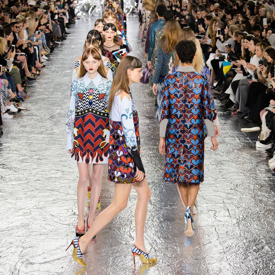 Mary Katrantzou Autumn Winter 2016 London Fashion Week Show
