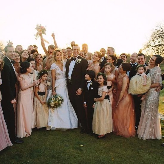 Taylor Swift Is Maid of Honour at Friend's Wedding 2016