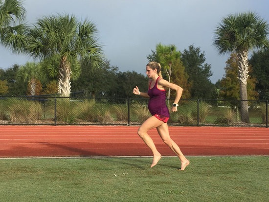Runner Sarah Brown Is Five Months Away From the Olympic Trials - And One Month Away From the Birth of Her First Child