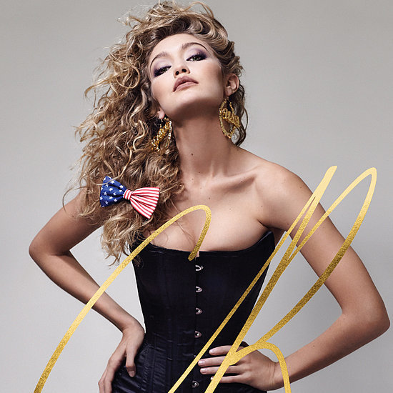 Gigi Hadid CR Fashion Book Cover Issue 8