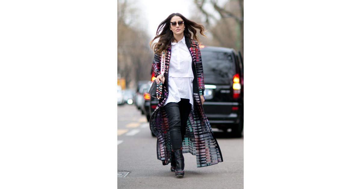 Day 2 The Best Street Style Looks From Milan Fashion Week Day 3 Popsugar Fashion