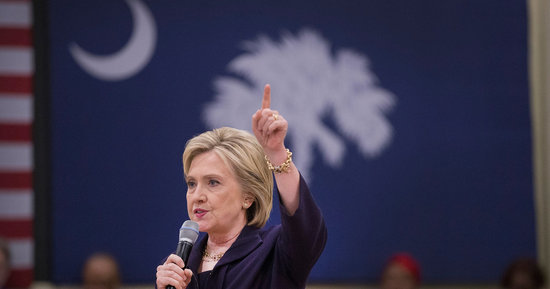 How Hillary Clinton Changed Her South Carolina Playbook