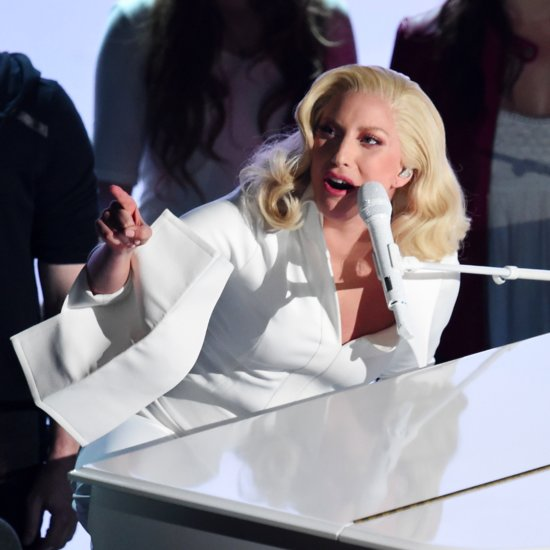 Celebrity Reactions to Lady Gaga's Oscars Performance 2016