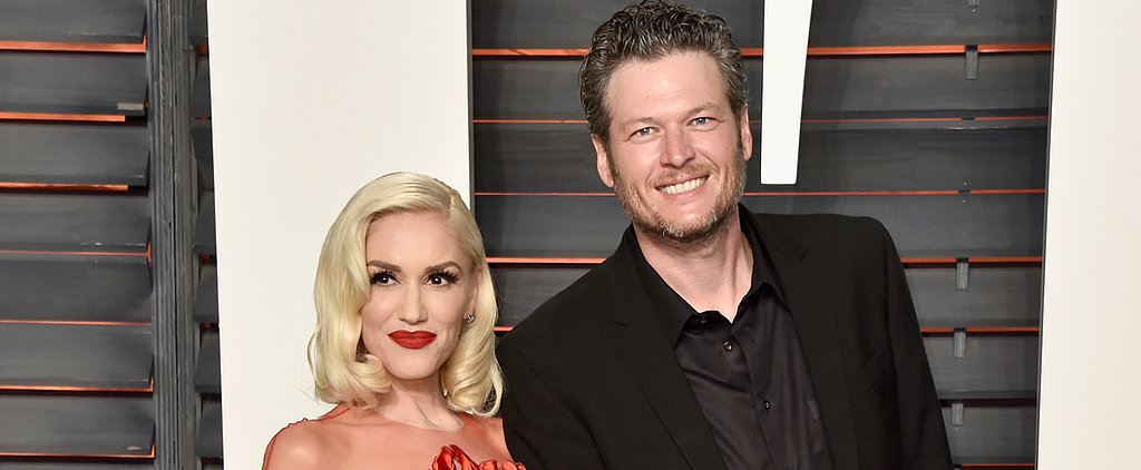Gwen Stefani and Blake Shelton Hold Hands at Vanity Fair's Oscars After-Party