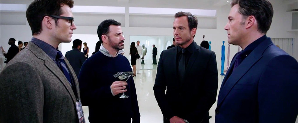 Ben Affleck and Henry Cavill Aren't the Only Stars in Jimmy Kimmel's Batman v Superman Parody