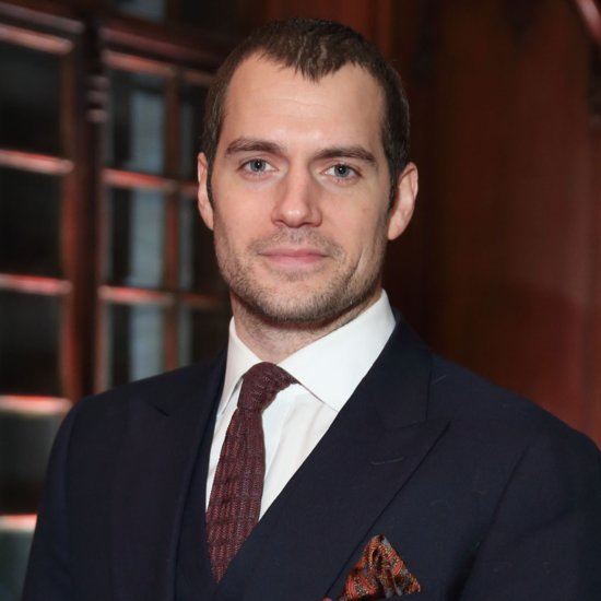 Henry Cavill On The Set Of Batman V Superman Popsugar