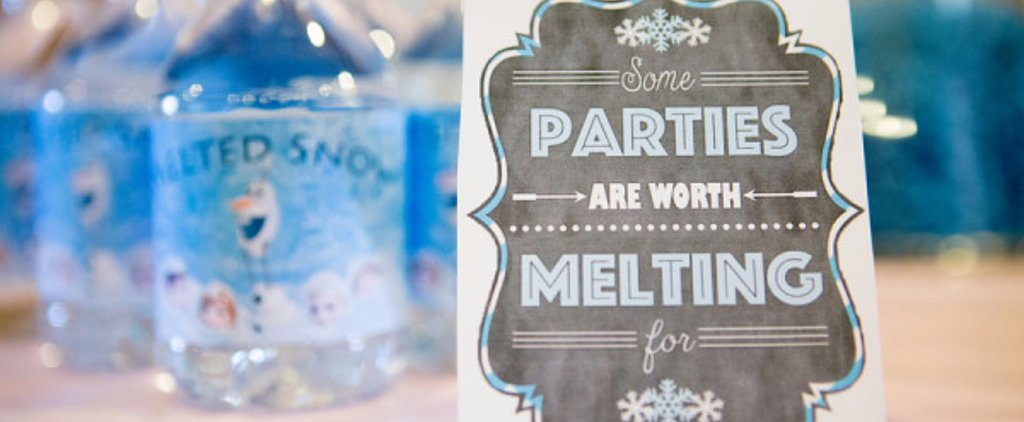 You'll Want to Throw This Frozen-Themed Birthday, No Matter the Season