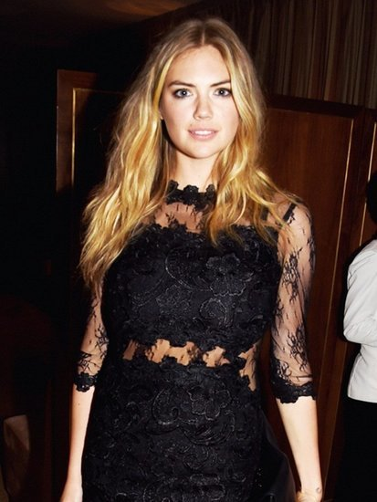 Kate Upton Wore a $210 Topshop Dress for a Night Out