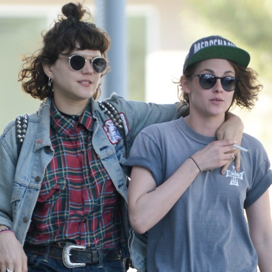 Kristen Stewart With Mystery Woman March 2016