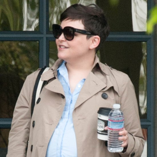 Ginnifer Goodwin Pregnant Out in LA March 2016
