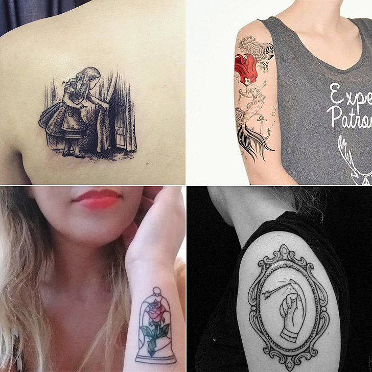 fairy tale tattoos popsugar love sex