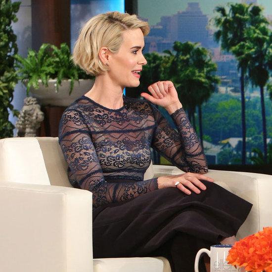 Sarah Paulson on The Ellen DeGeneres Show March 2016