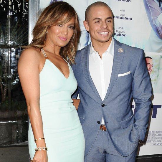 Jennifer Lopez and Casper Smart Cutest Pictures