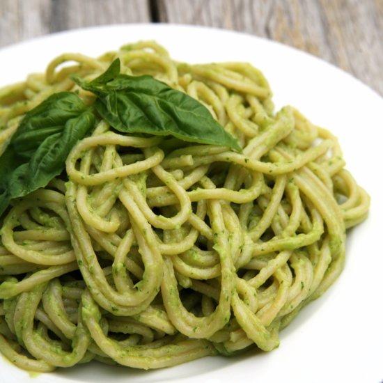 20-Minute Creamy Avocado Basil Pasta