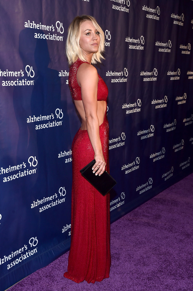 Kaley Cuoco Hits the Red Carpet, Leaves Us All at a Loss For Words