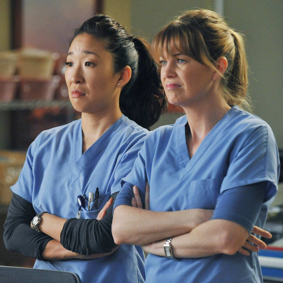 Meredith Grey and Cristina Yang Grey's Anatomy GIFs