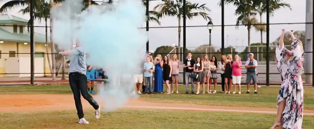 This Creative Baseball Gender Reveal Video Hits It Out of the Ballpark