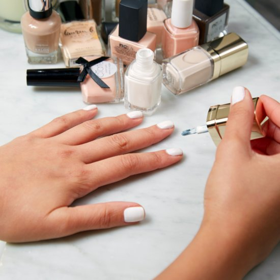 How to Keep Pale Manicures Looking Clean