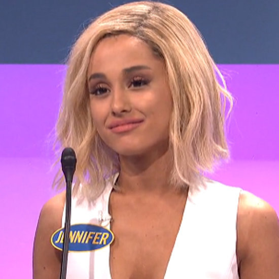 Ariana Grande's Celebrity Family Feud Skit on SNL | Video