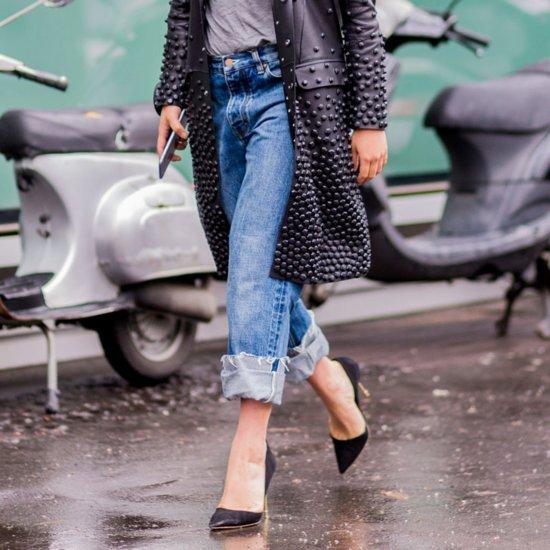 Denim Street Style Trends at Fashion Week Spring 2016