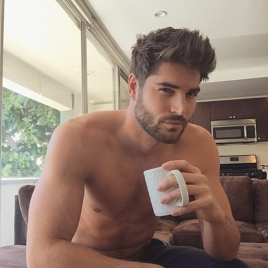 Hot Guys Drinking Coffee