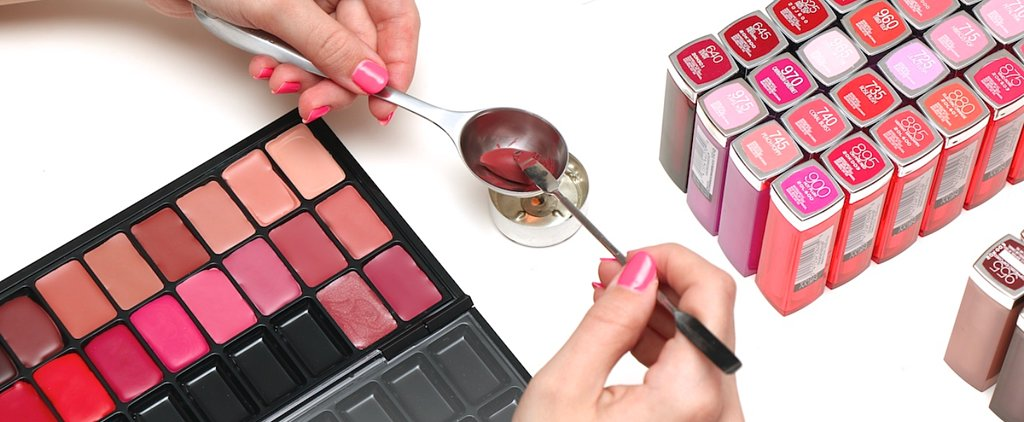 Cut Down on Beauty Bag Bulk With This DIY Lip Palette