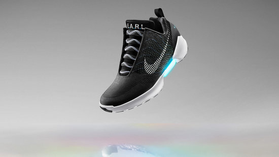 The Future Is Here: Nike Introduces Self-Lacing Sneakers