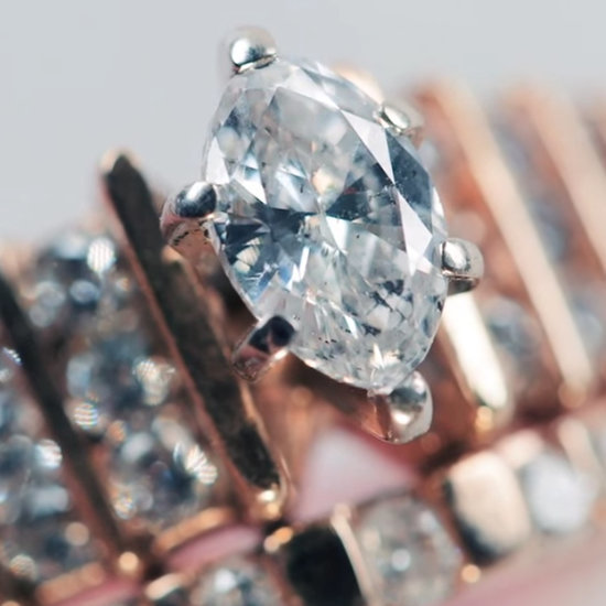 The Biggest Trend in 100 Years of Engagement Ring Style Is Diamonds, Diamonds, Diamonds