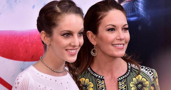 Diane Lane And Her Daughter Stun At 'Batman v Superman' Premiere
