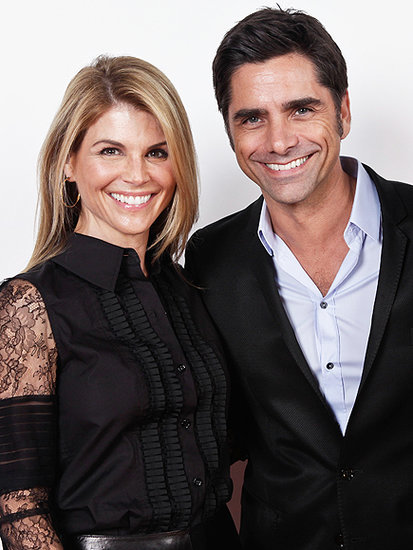 Lori Loughlin Jokes She Has to 'Approve' of John Stamos' Dates: 'I Have to Get a Full Bio and a Picture'