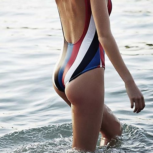 Mom's Problem With One-Piece Swimsuits