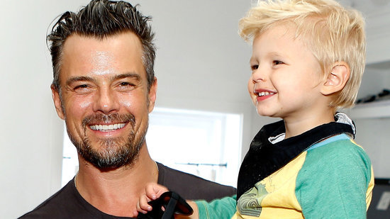 Josh Duhamel And Son Axl Are University of North Dakota Hockey's Most Adorable Fans
