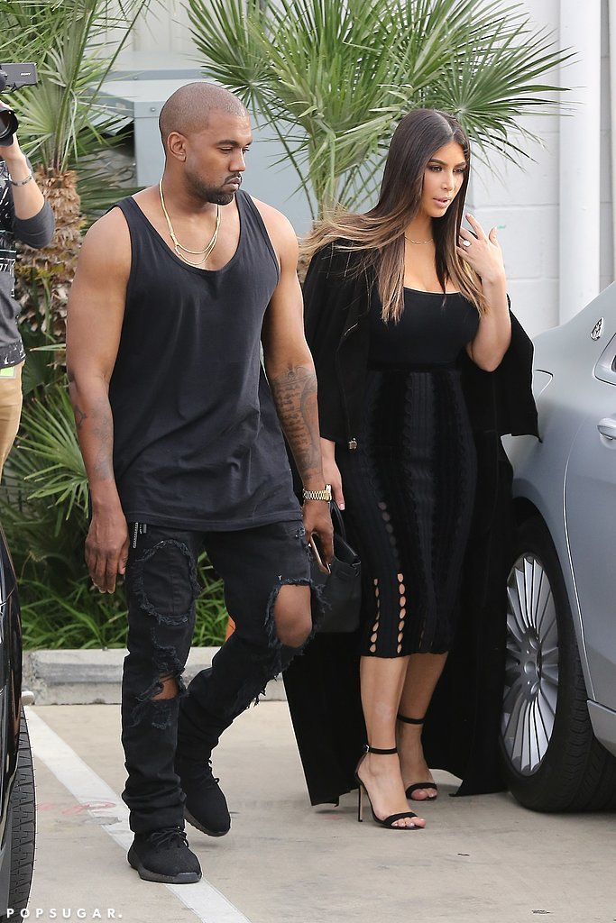 Kanye and Kim's Kocktails With Khloé Outfits