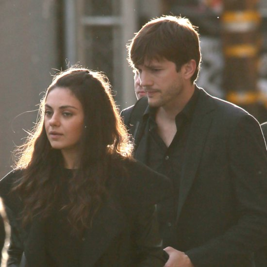 Ashton Kutcher and Mila Kunis in LA March 2016