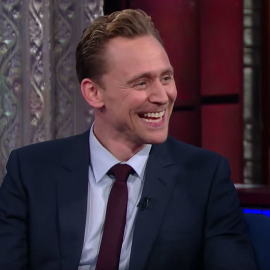 Tom Hiddleston on Stephen Colbert Video March 2016
