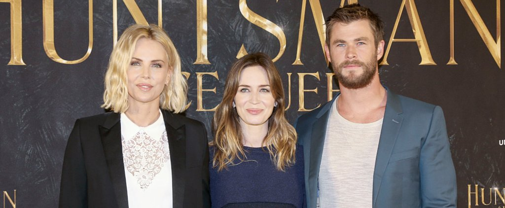 Here's the Painfully Attractive Cast of The Huntsman Posing For Pictures in Germany