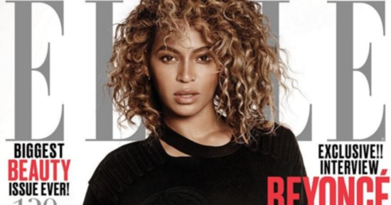 Beyoncé Covers Elle's Women In Music Issue In Ivy Park Bathing Suit