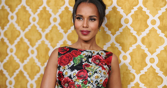 Kerry Washington Is The Epitome Of Elegance At The 'Confirmation' Premiere