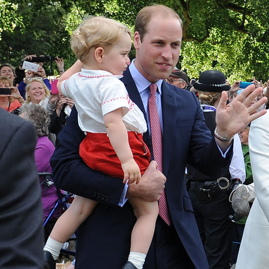 Prince William With Prince George and Princess Charlotte