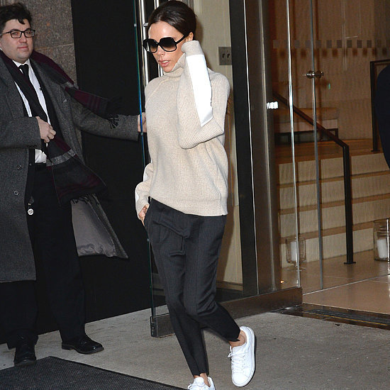 Victoria Beckham Wearing Adidas NMD Trainers