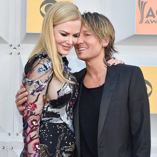 Keith Urban and Nicole Kidman at the ACM Awards 2016