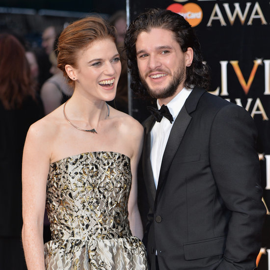 Kit Harington and Rose Leslie on Olivier Awards Red Carpet