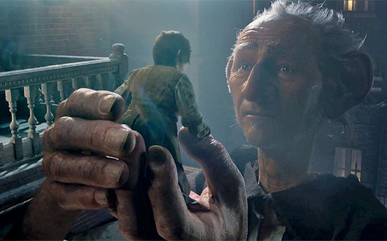 FROM EW: The Giant Revealed in New Trailer for Steven Spielberg's The BFG