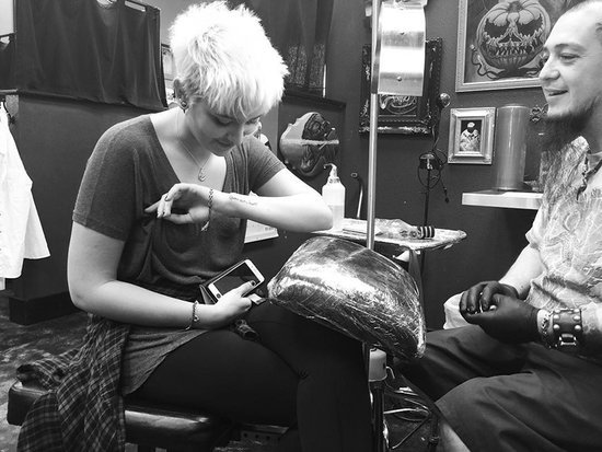 Paris Jackson Dedicates New Tattoo to Late Father Michael: 'He Was the King of My Heart'