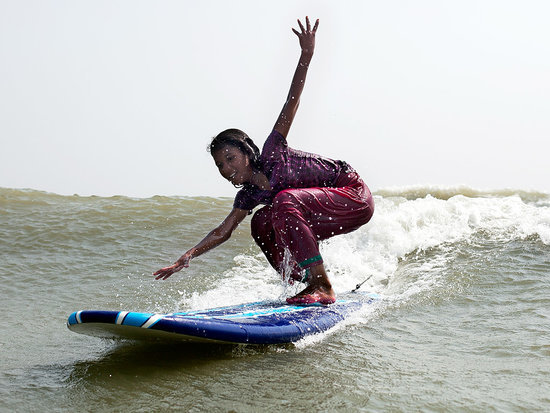 How Girls in Bangladesh Are Finding Independence Through Surfing